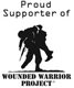 We Proudly Support the Wounded Warrior Project